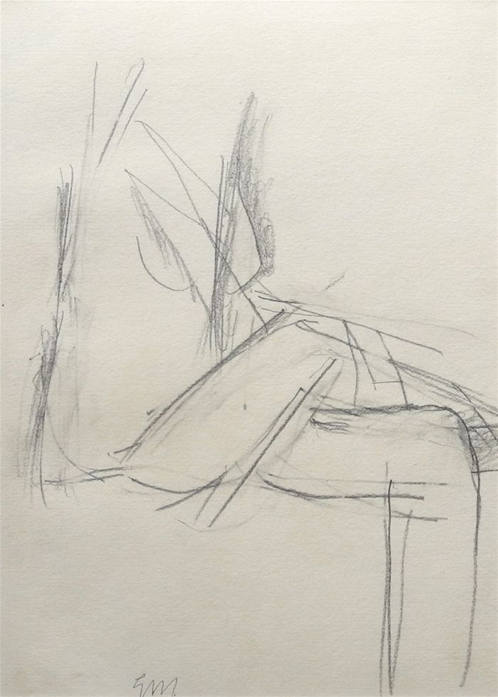 artwork (Seated Nude I) by Godfrey Miller