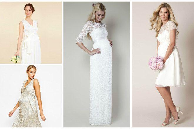 30 robes de mariée de grossesse - Robe de mariée femme enceinte - aufeminin.com