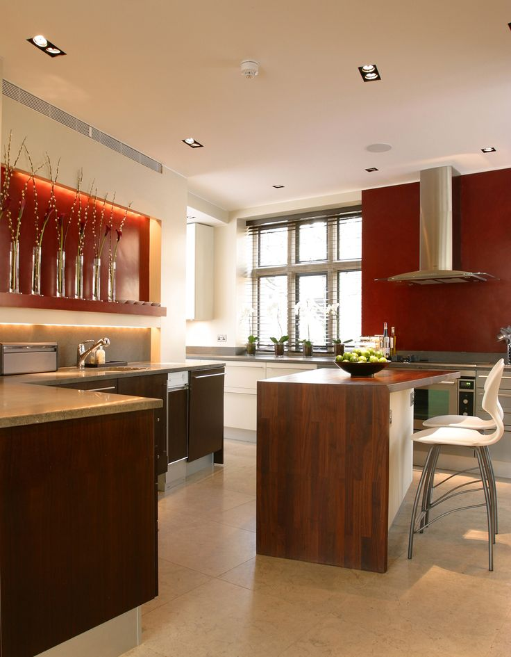 Lighting design by john cullen lighting · kitchen lighting designproject