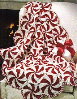 Free Pattern: Crochet Peppermint Aftgan