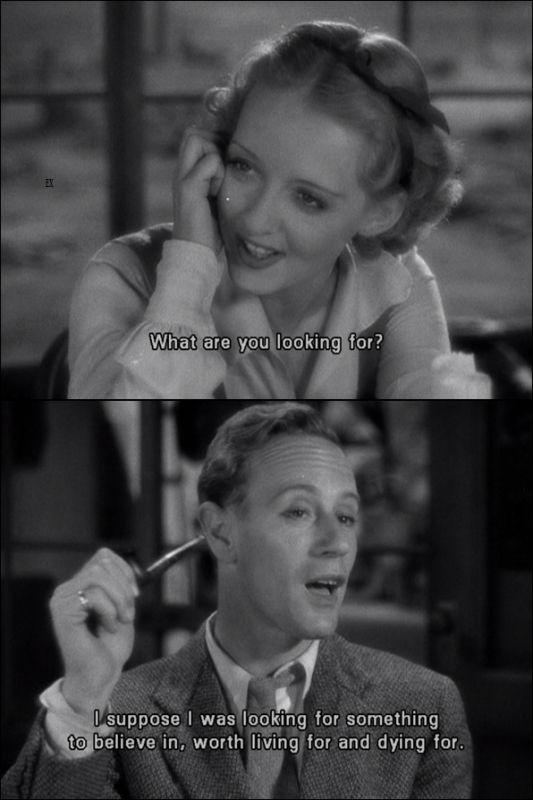 The Petrified Forest (1936) Humphrey Bogart, Bette Davis & Leslie Howard