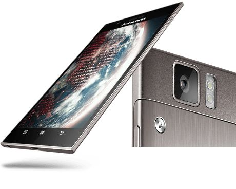 """POWERFUL, YET REFINED. Powered by Intel®, the Lenovo K900 mobile phone is the complete Android™ smartphone. Ultraslim at only 6.9 mm with a svelte and durable brushed metal casing, it features 13M camera technology, and a full HD 1080p 5.5"""" display so you can enjoy apps, photos, videos, and games at their purest."""