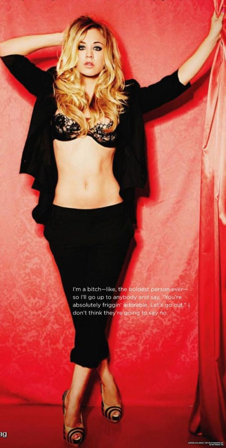 Kaley Cuoco Playboy Interview More Random 1 Kaley