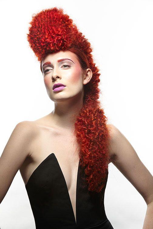 Wild hair from Lisa Power Salon, Seattle.