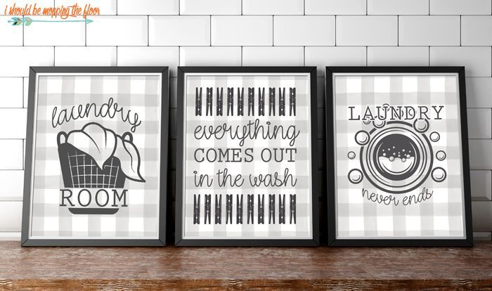 3 Free Laundry Room Printables In 4x6 5x7 And 8x10 Options