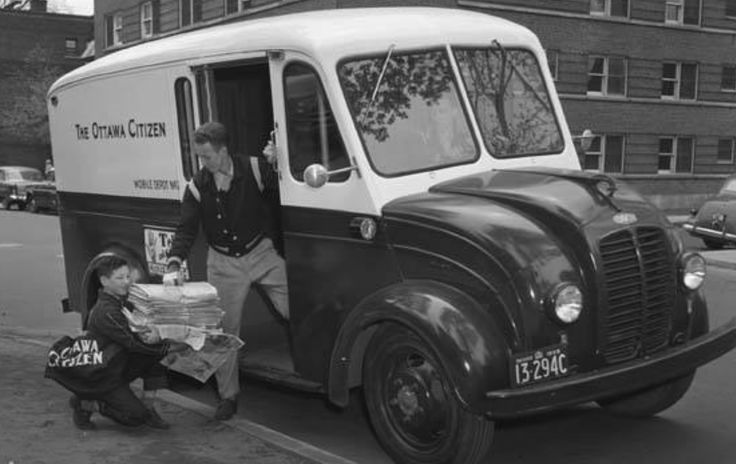 The Citizen delivery truck 1955