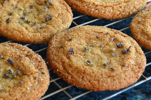 Lavender & Honey Cookie Recipe - Lovely Greens