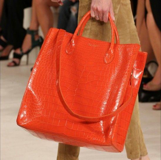 Shopper orange Ralph Laurent  Primavera/Estate 2015
