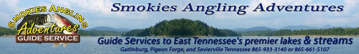 Tennessee fishing in the East Tennessee Smoky Mountains.  Guided fishing trips on  Douglas Lake,  Cherokee Lake and  Norris Lake.