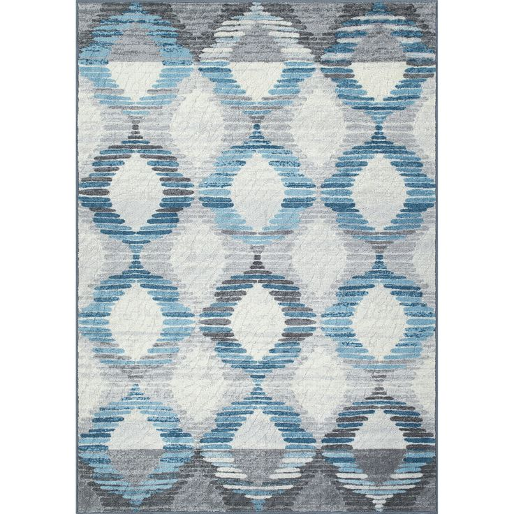 Best Dalyn Rug Co Horizons Blue Area Rug Area Rugs Grey 400 x 300