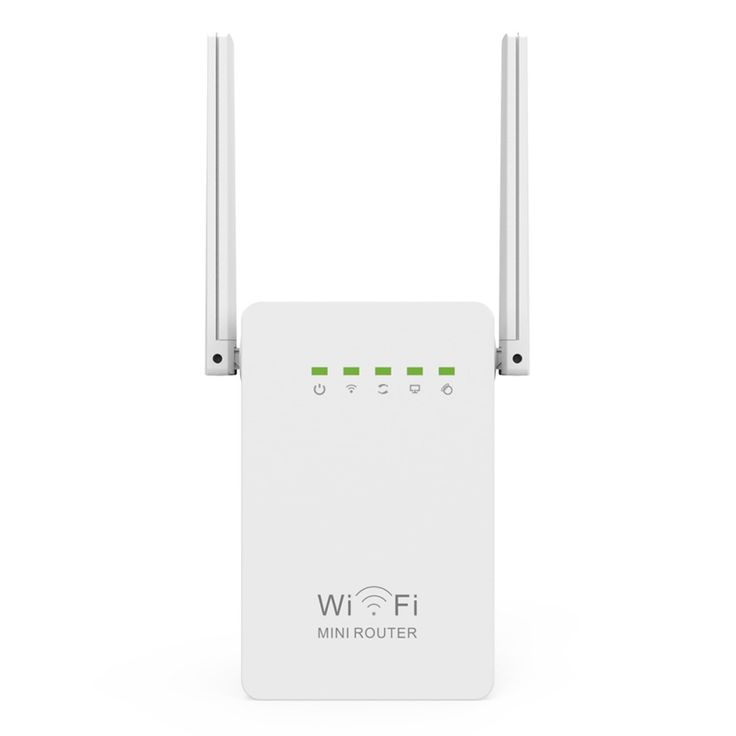300Mbps WiFi Repeater Network Range Extender Booster N300 Single Increase Dual External Antennas EU US AU UK Plug    The WR02E's Wireless Router/Repeater is designed to extend Wi-Fi coverage to dead zones which your existing Wi-Fi signal can't reach.  WR02E delivers Wi-Fi up to 300Mbps speeds and it is ideal for smooth HD video, music streaming and online gaming. It can beused as a router, repeater, access point which is very convenient to connect to the internet in different scenarios. With…