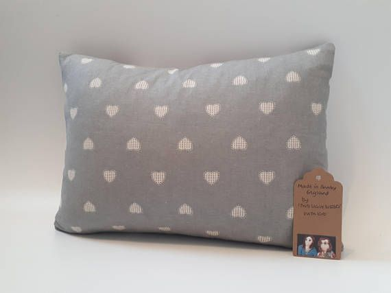 Two Ugly Sisters  Heart Cushion Tartan Cushion Valentine