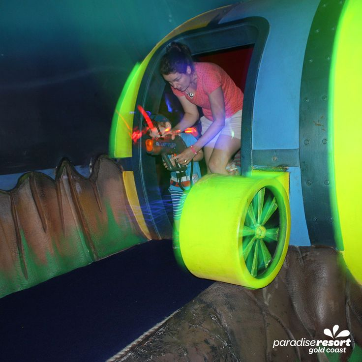 Laser Tag for the whole family!