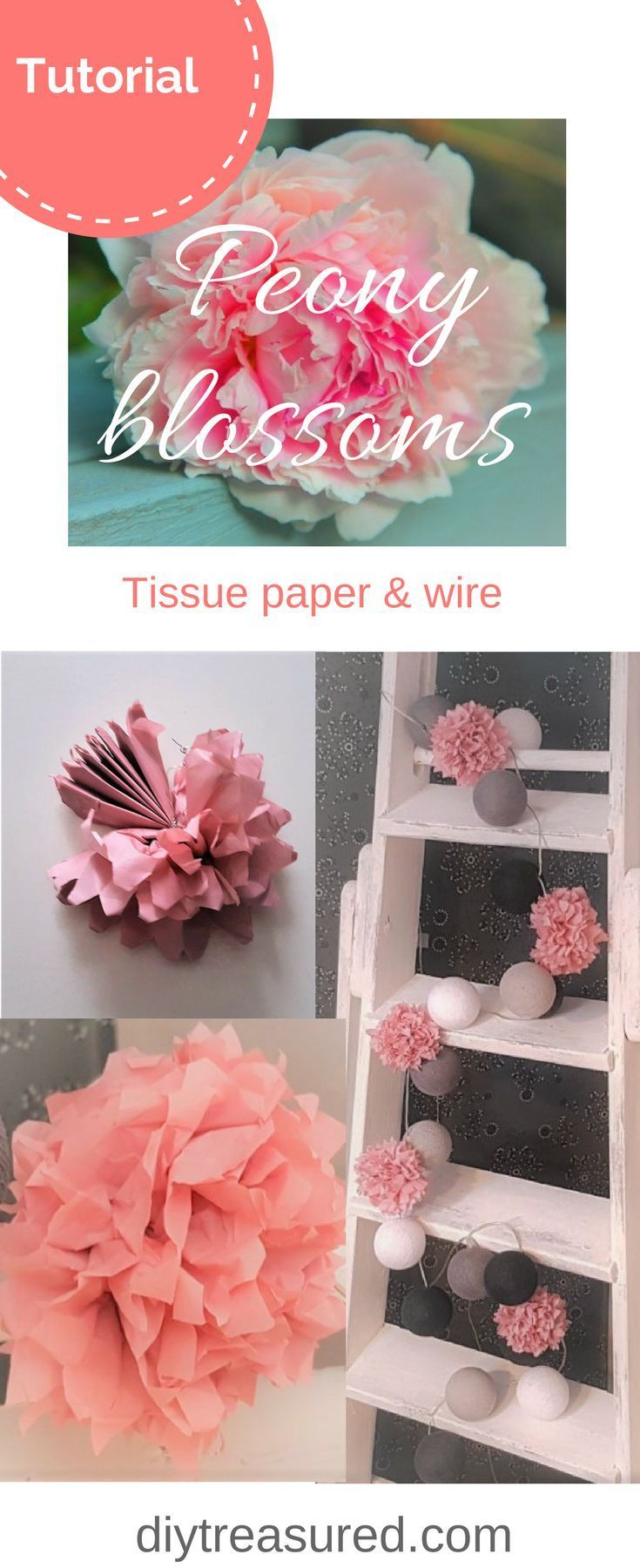 Create beautiful decorations with this simple tutorial! | tissue ...