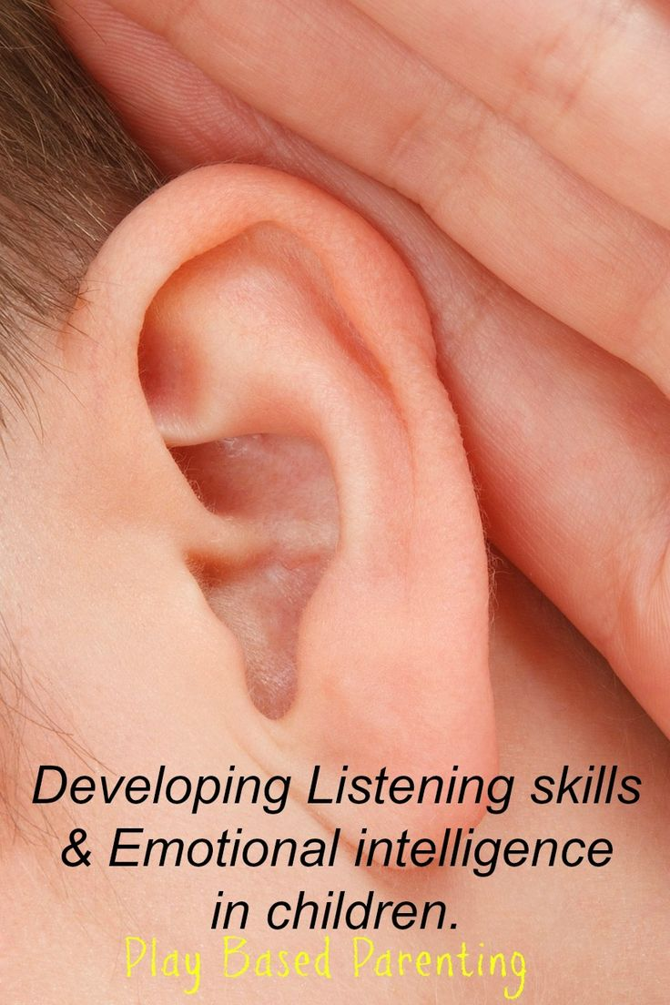 develop listening skills with emotional intelligence childrens game
