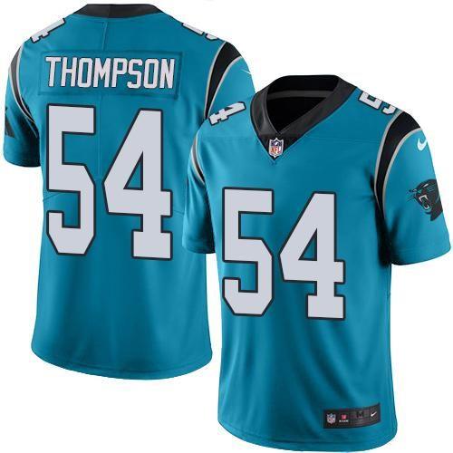 Odell Beckham Jr jersey Nike Panthers #54 Shaq Thompson Blue Men's Stitched NFL Limited Rush Jersey Ravens Tony Jefferson jersey Giants Odell Beckham Jr 13 jersey