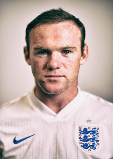 Wayne Rooney of England poses during the official FIFA World Cup 2014 portrait session