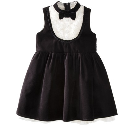 Harajuku Mini for Target® Toddler Girls' Sleeveless Tux Dress - Black