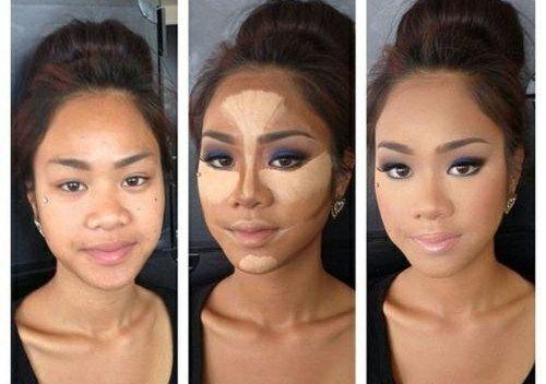 nariz mas pequeña makeup