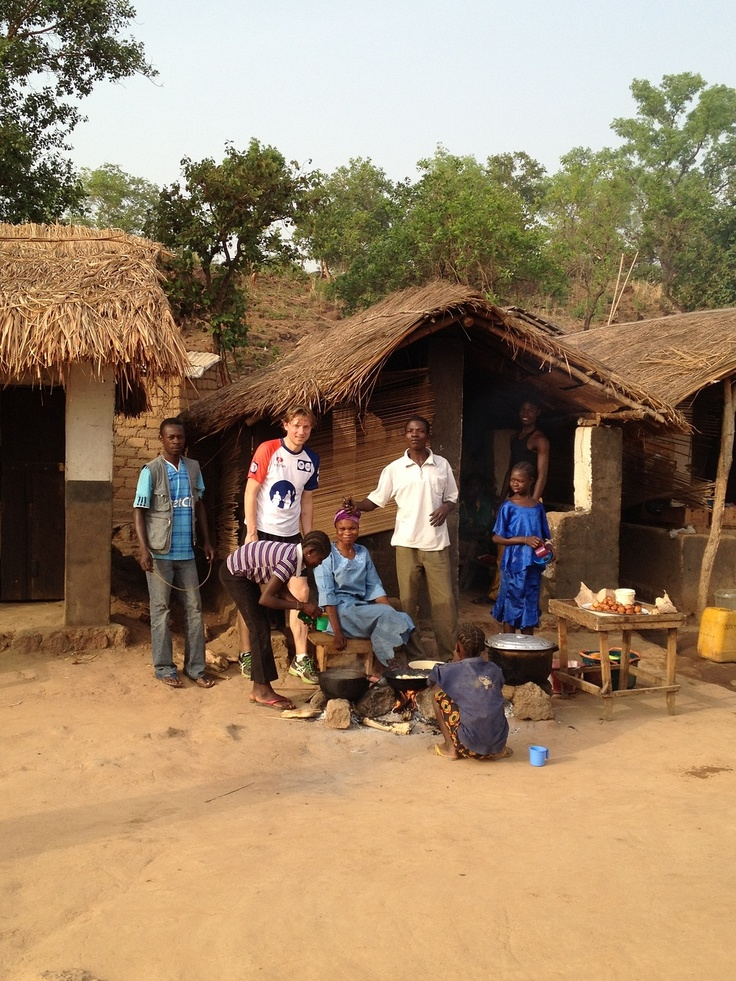 Frederik in de Centraal Afrikaanse Republiek