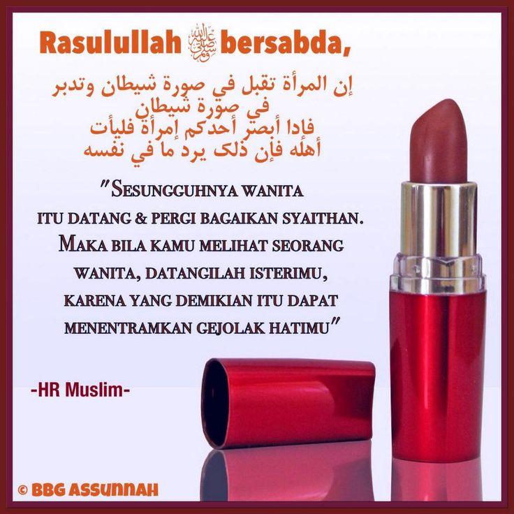 Follow @NasihatSahabatCom http://nasihatsahabat.com #nasihatsahabat #mutiarasunnah #motivasiIslami #petuahulama #hadist #hadits #nasihatulama #fatwaulama #akhlak #akhlaq #sunnah  #aqidah #akidah #salafiyah #Muslimah #adabIslami #DakwahSalaf # #ManhajSalaf #Alhaq #Kajiansalaf  #dakwahsunnah #Islam #ahlussunnah  #sunnah #tauhid #dakwahtauhid #alquran #kajiansunnah #salafy #zina #Wanita #DatangdanPergi #Seperti #Setan #syaithan #syaithon #Perempuan #DatangaiIstrimu #tentramkangejolakhati