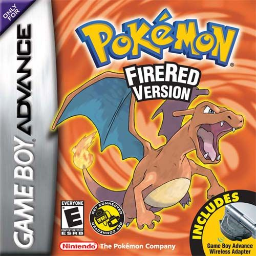 Pokemon Fire Red | My first pokemon game that I had the joy of playing