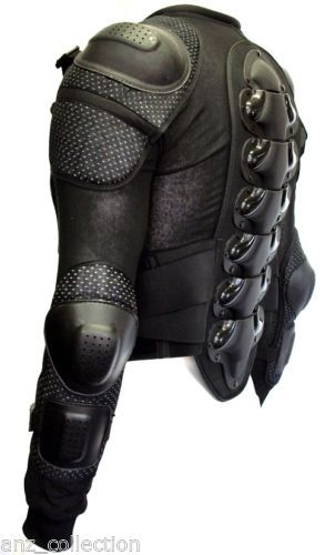 Body-Armour-Motorcycle-Motorbike-Motocross-spine-Protector-Guard-Bionic-Jacket