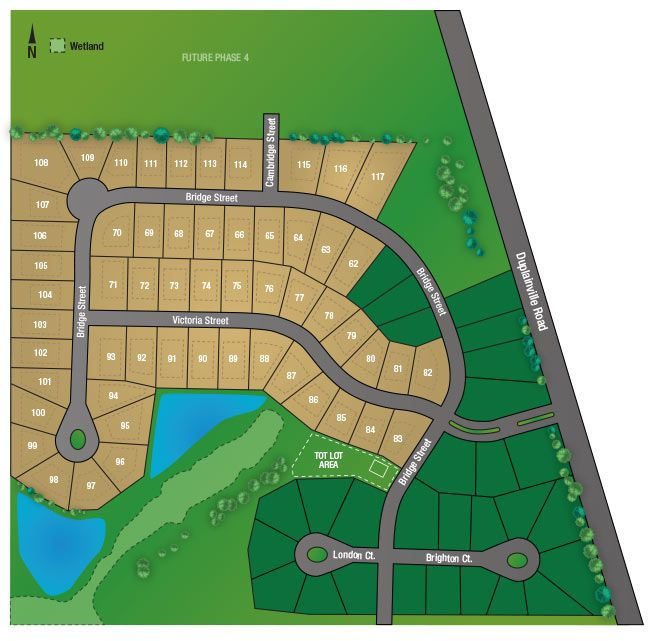 Victoria Station Neighborhood In Pewaukee. Location Of The
