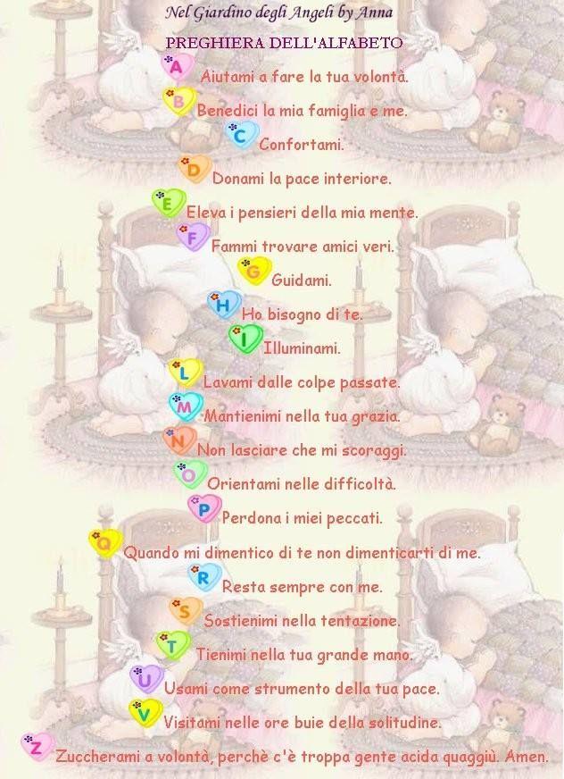 Preghiera dell'alfabeto