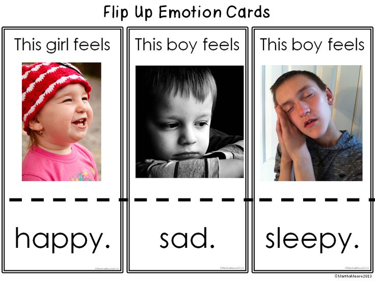 Free! Emotion Cards Flip up! Repinned by playwithjoy.com. For more autism pins visit pinterest.com/playwithjoy.