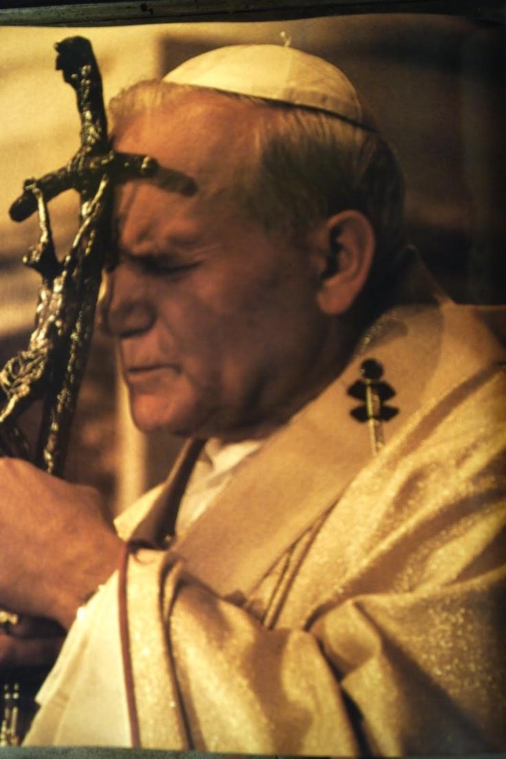 On April 27, 2014 I can call you Saint John Paul II