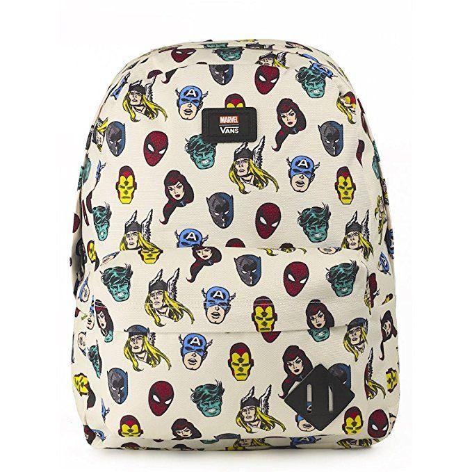 VANS Old Skool II Backpack Superheroes (MARVEL) Schoolbag VN000ONIRUB VANS MARVEL Bags
