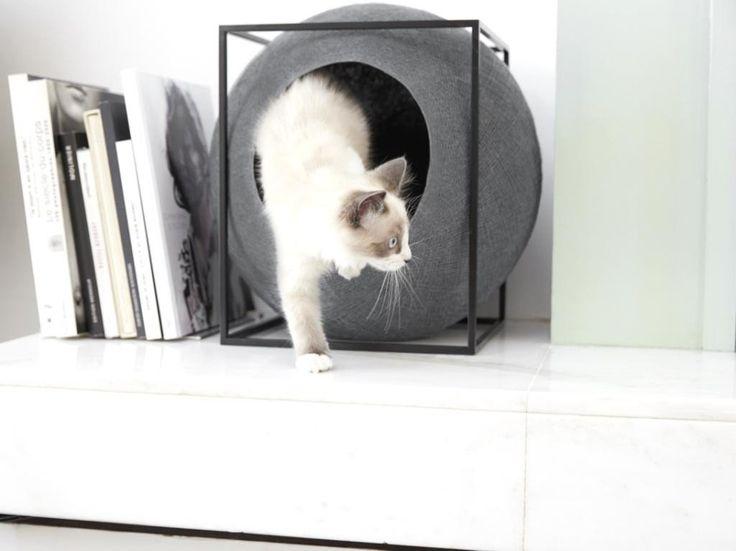 1000 id es sur le th me panier chat sur pinterest panier pour chat coussin - Panier pour chat design ...
