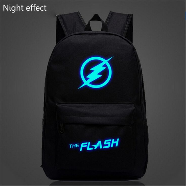 Fashion Flash Luminous Printing Backpack Glow leisure backpack Galaxy Animation Backpack School Bags for Teenagers Mochila