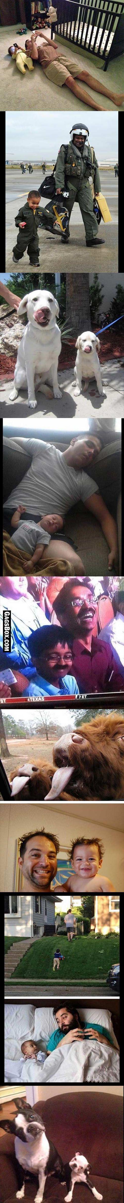 Father And Son - #funny, #lol, #fun, #humor, #comics, #meme, #gag, #lolpics, #Funnypics,