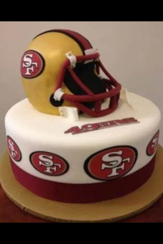 Birthday Cake Design San Francisco : 49ers cake 49ers Pinterest 49ers Cake and Cake