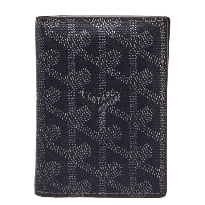 GOYARD St Pierre Canvas/Leather Bifold Card holder - Affordable Luxury