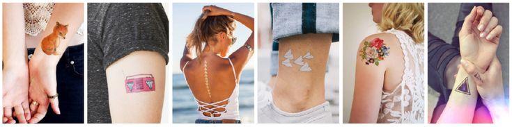 7 sencillos pasos para crear tus propios tatuajes temporales si aún no estás seguro de hacerte un tatuaje real.