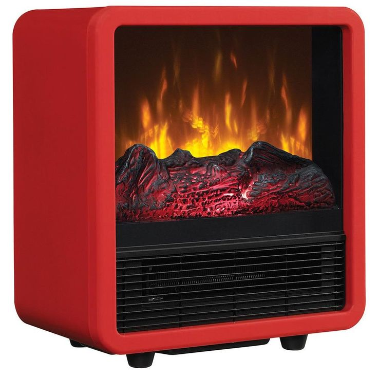 Twin Star 400 sq. ft. Compact Cube Electric Stove, Red-CFS-300-RED - The Home Depot