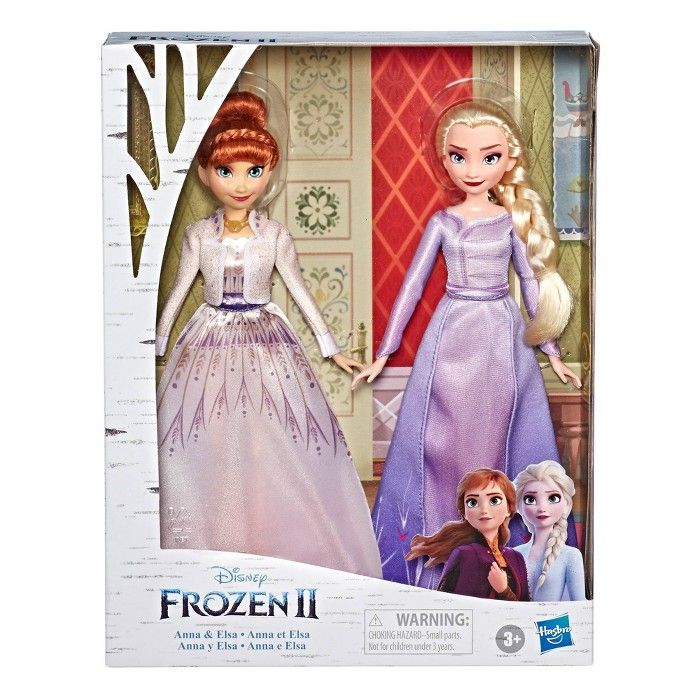 Disney Frozen 2 Anna And Elsa Fashion Doll Set Disney Frozen
