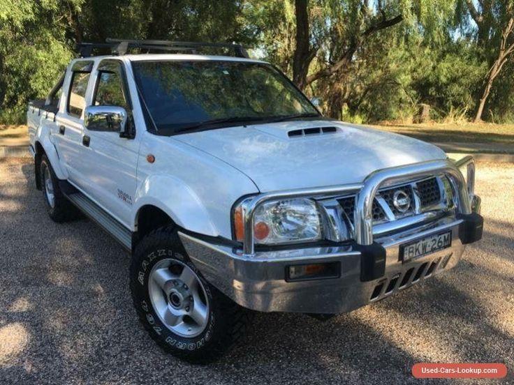 2009 Nissan Navara D22 MY08 ST-R (4x4) White Manual 5sp M Dual Cab Pick-up #nissan #navara #forsale #australia