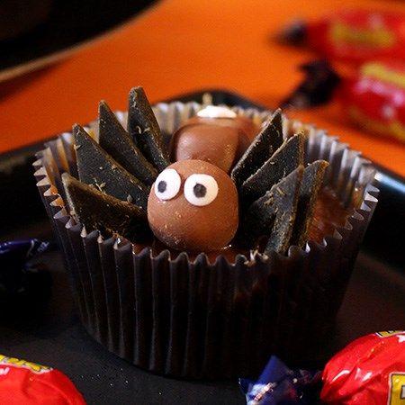 Dumle Halloween cup cakes - Fazer