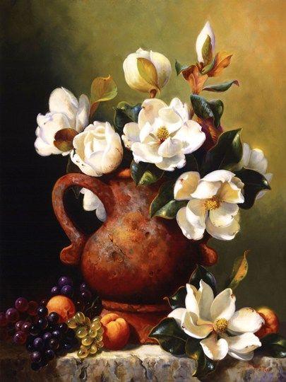 Magnolias+In+Terra+Cotta