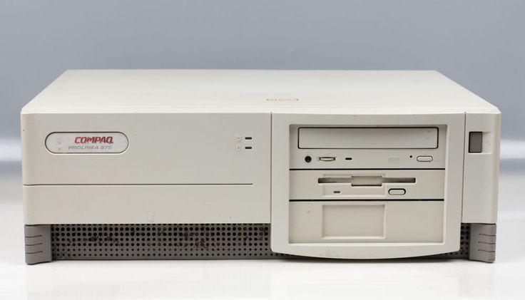 COMPAQ Prolinea 575  Pentium 75Mhz 630MB HDD 16MB Edo RAM   Computers/Tablets & Networking, Vintage Computing, Vintage Computers & Mainframes   eBay!