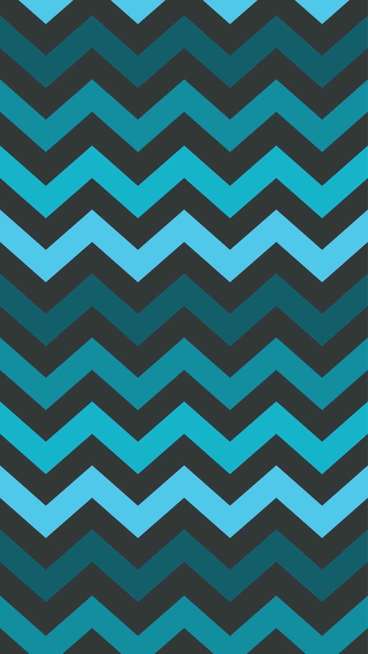 turquoise zigzag wallpapers pinterest - photo #10
