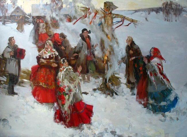Maslenitsa in Russia