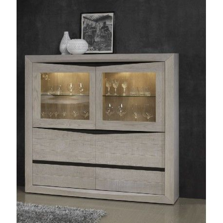 Soft -exclusive  wide display cabinet with lights