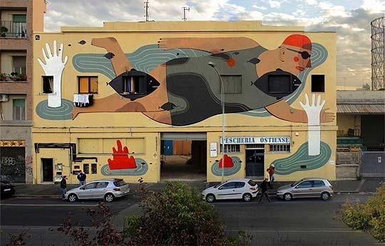 AGOSTINO IACURCI  #agostino #street Art #mural