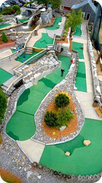 Miniature Golf Course Designs Bats on