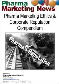Pharma Marketing Ethics & Corporate Reputation Compendium  is a catalog of articles, blog posts, podcasts, and surveys about the pharmaceutical industry's marketing practices viz-a-viz ethics and its corporate reputation.